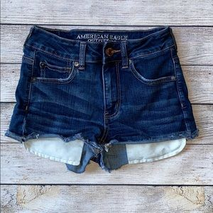 American Eagle Outfitters Hi Rise Shortie Shorts 2
